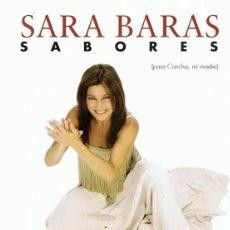 Vídeos y DVD Musicales: SARA BARAS SABORES . Lote 167599616