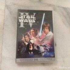 Vídeos e DVD Musicais: DVD STAR WARS I V LA GUERRA DE LAS GALAXIAS UNA NUEVA ESPERANZA. Lote 167718132