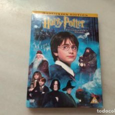 Vídeos y DVD Musicales: DVD HARRY POTTER AND THE PHILOSOPHER STONE EN INGLES . Lote 167833304