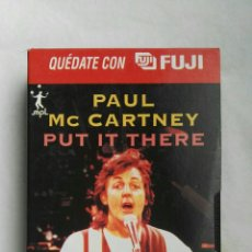 Vídeos y DVD Musicales: PAUL MCCARTNEY VHS PUT IT THERE. Lote 168125141