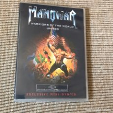 Vídeos y DVD Musicales: MANOWAR DVD+CD WARRIORS OF THE WORLD. Lote 168287072