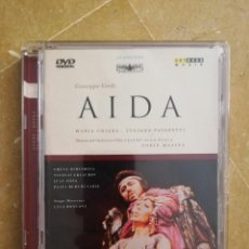 Vídeos y DVD Musicales: AIDA (GIUSEPPE VERDI) MARIA CHIARA / LUCIANO PAVAROTTI (DVD). Lote 168339992