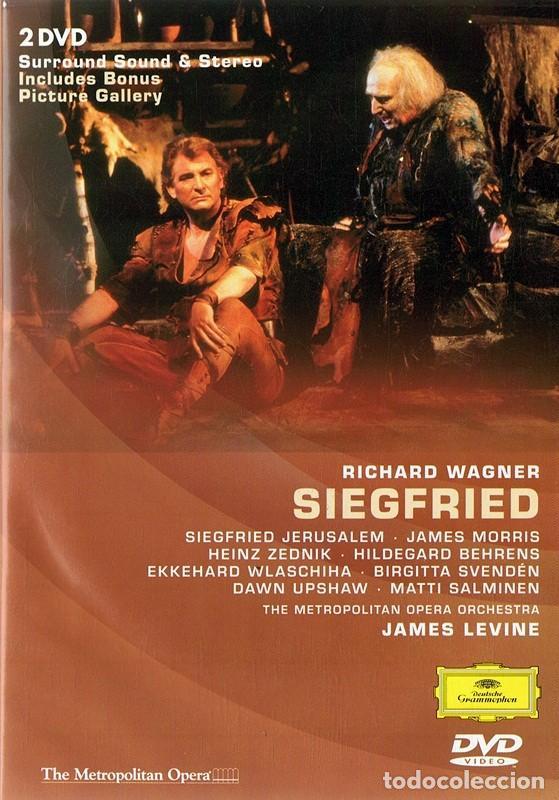 RICHARD WAGNER SIEGFRIED - LEVINE ( 2 DISCOS) (Música - Videos y DVD Musicales)