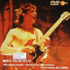 Vídeos y DVD Musicales: MIKE OLDFIELD - DORTMUND (GERMANY), WESTFALENHALLE, DECEMBER 20, 1980 (DVD). Lote 263185995