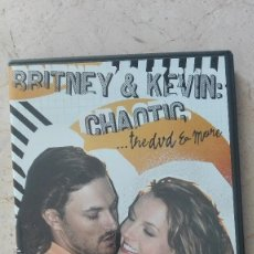 Vídeos y DVD Musicales: BRITNEY SPEARS & KEVIN CHAOTIC 2 CDS VER MÁS A LA VENTA . Lote 168842488