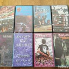 Vídeos y DVD Musicales: REINCIDENTES / CICATRIZ/ NEGU GORRIAK / HEROES DEL SILENCIO/ PARABELLUM/ CEREBROS EXPRIMIDOS/ MURO. Lote 168845308
