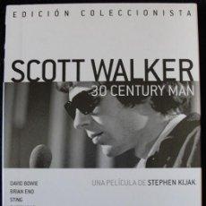 Vídeos y DVD Musicales: SCOTT WALKER 30 CENTURY MAN - DVD EDICION COLECCIONISTA - RAREZA -. Lote 168941956