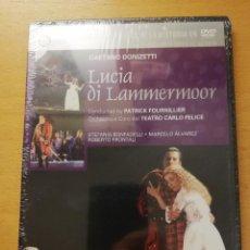 Vídeos y DVD Musicales: LUCIA DI LAMMERMOOR (GAETANO DONIZETTI) DVD PRECINTADO. Lote 168973472