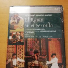 Vídeos y DVD Musicales: EL RAPTO EN EL SERRALLO (WOLFGANG AMADEUS MOZART) DVD PRECINTADO. Lote 168973648