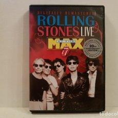 Vídeos y DVD Musicales: ROLLING STONES LIVE AT THE MAX EN DVD MUY BUEN ESTADO VER FOTOS. Lote 168974312