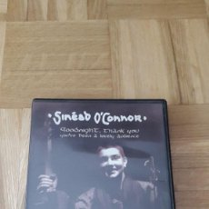 Vídeos y DVD Musicales: DVD - SINEAD O´CONNOR - GOODNIGNT, TNANK YOU - DVD MUSICAL - LIVE IN DUBLIN - VER FOTO ADICIONAL. Lote 169025452