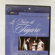 Vídeos y DVD Musicales: WOLFGANG MOZART, LE NOZZE DI FIGARO. Lote 169472052