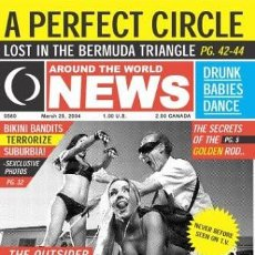 Vídeos y DVD Musicales: A PERFECT CIRCLE - LOST IN THE BERMUDA TRIANGLE - NTSC DVD- REGION 1. Lote 169761116