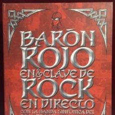 Vídeos y DVD Musicales: BARÓN ROJO EN CLAVE DE DIRECTO. Lote 169969797