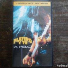 Vídeos y DVD Musicales: VHS PLATERO Y TÚ A PELO. DIRECTO 1996. FITO CABRALES, IÑAKI EXTREMODURO. Lote 170161884