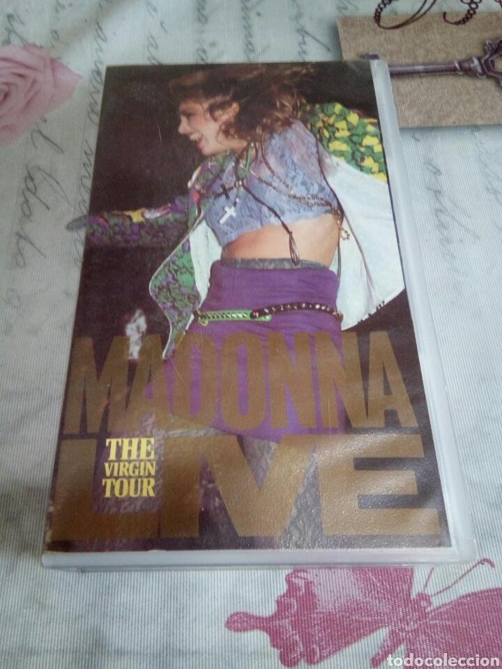 VHS DE MADONNA/THE VIRGIN TOUR (Música - Videos y DVD Musicales)