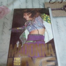 Vídeos y DVD Musicales: VHS DE MADONNA/THE VIRGIN TOUR. Lote 170209558