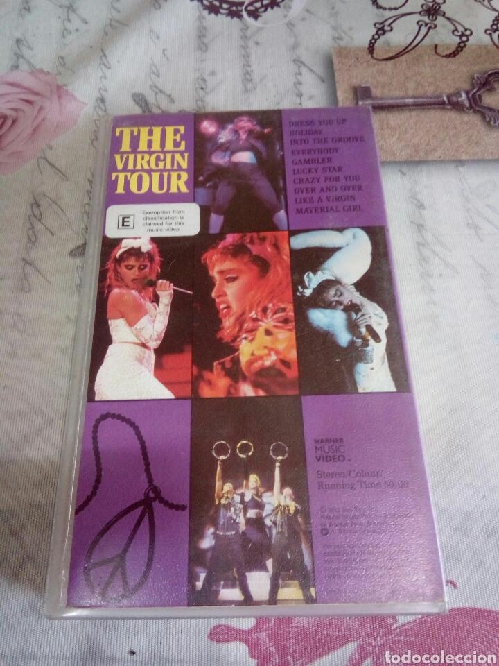 Vídeos y DVD Musicales: VHS DE MADONNA/THE VIRGIN TOUR - Foto 2 - 170209558