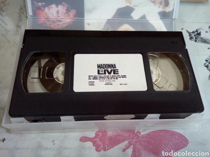 Vídeos y DVD Musicales: VHS DE MADONNA/THE VIRGIN TOUR - Foto 3 - 170209558