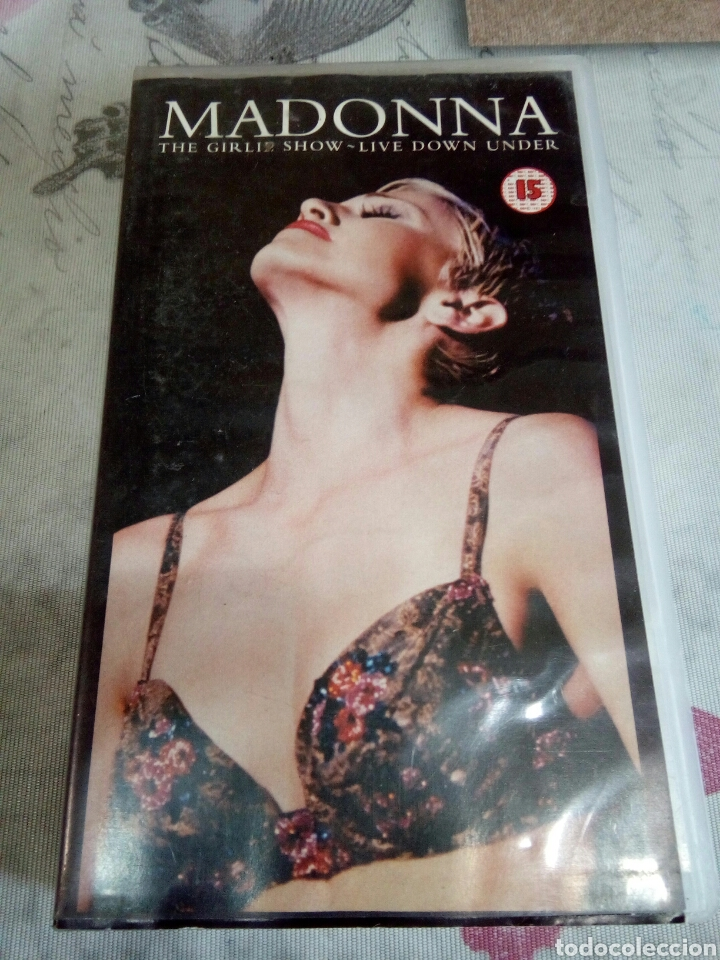 VHS MADONNA/ THE GIRL SHOW (Música - Videos y DVD Musicales)