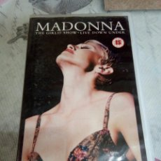 Vídeos y DVD Musicales: VHS MADONNA/ THE GIRL SHOW. Lote 170209922