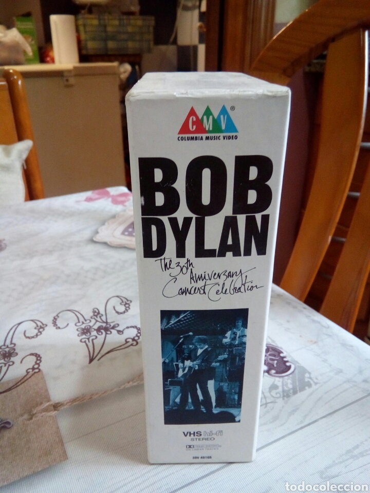 Vídeos y DVD Musicales: VHS BOB DYLAN / THE 30TH ANIVERSARY - Foto 4 - 170211116