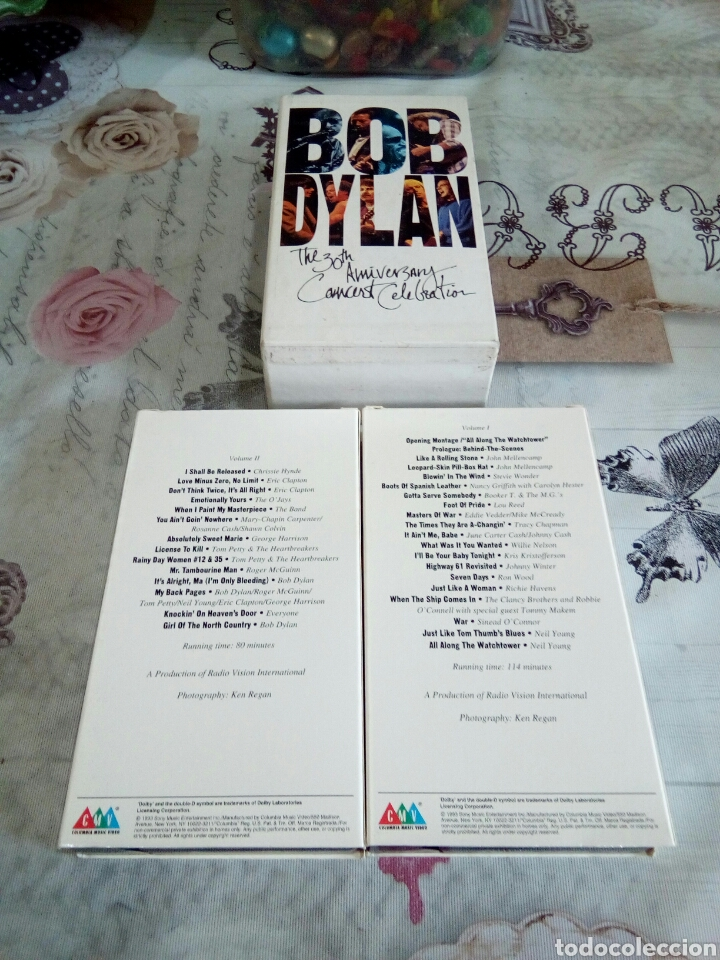 Vídeos y DVD Musicales: VHS BOB DYLAN / THE 30TH ANIVERSARY - Foto 6 - 170211116