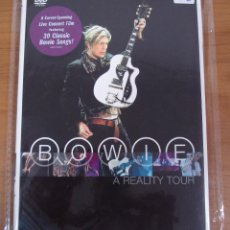 Vidéos y DVD Musicaux: DAVID BOWIE. PRECIOSO DVD TITULADO: A REALITY TOUR. Lote 170627845