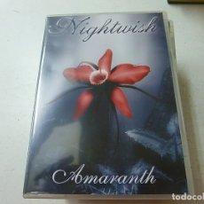 Vídeos y DVD Musicales: NIGHTWISH -AMARANTH-DVD - N. Lote 170868030