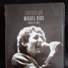 Vídeos y DVD Musicales: DVD MIGUEL RIOS ( ROK& RIOS ). Lote 171342960