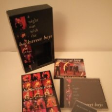 Vídeos y DVD Musicales: BACKSTREET BOYS VHS A NIGHT OUR WITH THE BACKSTREET BOYS. Lote 171464873