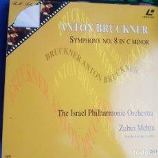 Vídeos y DVD Musicales: LASER DISC - ANTON BRUCKNER - SYMPHONY NO.8 IN C MINOR. Lote 171532143