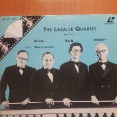 Vídeos y DVD Musicales: LASER DISC - THE LASALLE QUARTET. Lote 171533858