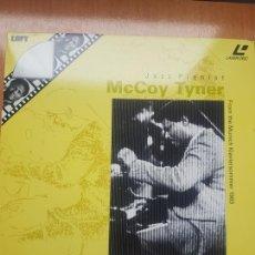 Vídeos y DVD Musicales: LASER DISC - MCCOY TYNER - JAZZ PIANIST - MUNICH 1983. Lote 171534310