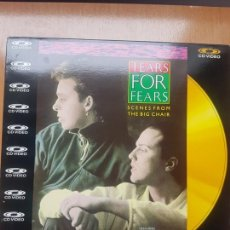 Vídeos y DVD Musicales: CD VIDEO - TEARS FOR FEARS - SCENES FROM THE BIG CHAIR. Lote 171534672