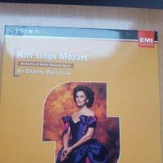 Vídeos y DVD Musicales: LASER DISC - KIRI SINGS MOZART . Lote 171535032