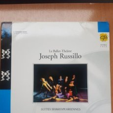 Vídeos y DVD Musicales: LASER DISC - LE BALLET - THEATRE - JOSEPH RUSSILLO. Lote 171535159