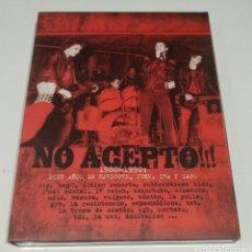 Vídeos y DVD Musicales: NO ACEPTO!! (1980-1990 / DIEZ AÑOS DE HARDCORE,PUNK,IRA Y CAOS). Lote 171703832
