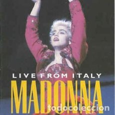 Vídeos y DVD Musicales: MADONNA - CIAO ITALIA - LIVE FROM ITALY (WARNER MUSIC, 7599-38141-2 DVD-V, PAL, SUP). Lote 171976328