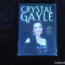 Vídeos y DVD Musicales: CRYSTAL GAYLE AN EVENING CRYSTAL GAYLE - DVD NUEVO PRECINTADO. Lote 172010505