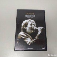 Vidéos y DVD Musicaux: J7- CONCIERTOS DE ORO MIGUEL RIOS ROCK & RIOS DVD VIDEO PLANETA . Lote 172612513
