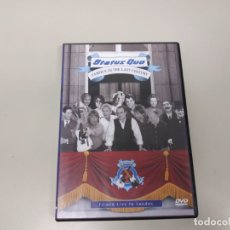 Vídeos e DVD Musicais: J7- STATUS QUO FAMOUS IN THE LAST CENTURY LIVE IN LONDON DVD VIDEO . Lote 172614723