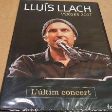 Vídeos y DVD Musicales: LLUÍS LLACH / VERGES 2007 / L'ÚLTIM CONCERT / DVD-CLAUS RECORDS-2012 / 25 TEMAS / PRECINTADO.. Lote 190819791