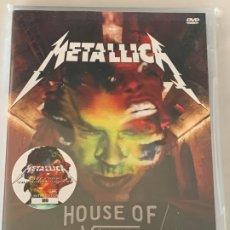Vídeos e DVD Musicais: METALLICA - HOUSE OF VANS - 1 DVD, EDICIÓN LIMITADA, LONDON 2016. Lote 172741097