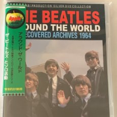 Vídeos y DVD Musicales: THE BEATLES - AROUND THE WORLD RECOVERED ARCHIVES 1964 - 1 DVD, JAPONES. Lote 172744535