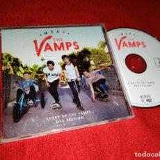 Vídeos y DVD Musicales: THE VAMPS MEET STORY OF THE VAMPS DVD 2014 VIRGIN. Lote 172900525