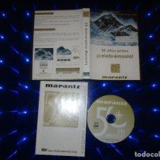 Vídeos y DVD Musicales: 50 ANIVERSARIO MARANTZ - DVD - DUKE ROBILLARD - MARK KING - LARRY CARLTON - MARCUS MILLER - AMERICA. Lote 173009729