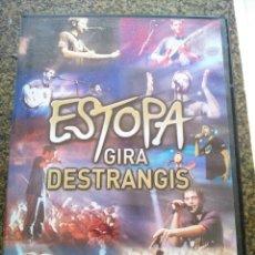 Vídeos e DVD Musicais: DVD -- ESTOPA - GIRA DESTRANGIS -- . Lote 173011262