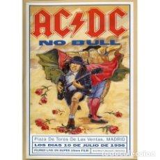 Vídeos y DVD Musicales: AC DC - NO BULL VHS. Lote 173091715