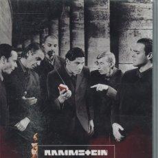 Vídeos y DVD Musicales: RAMMSTEIN - LIVE AUS BERLIN VHS. Lote 173091859